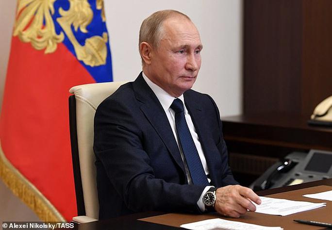 Tổng thống Putin công bố ngày bỏ phiếu sửa đổi hiến pháp - Ảnh 1.