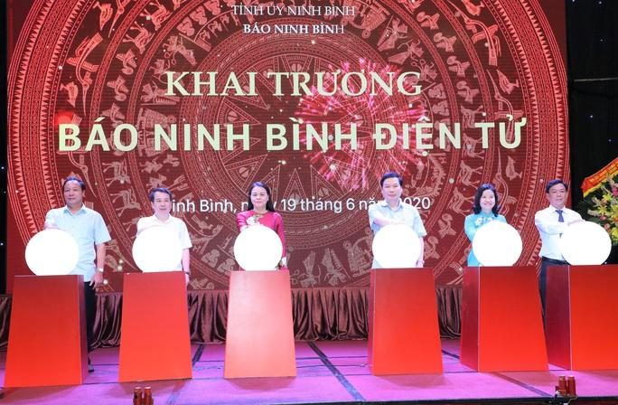 Báo Ninh Bình điện tử chính thức đi vào hoạt động - Ảnh 1.