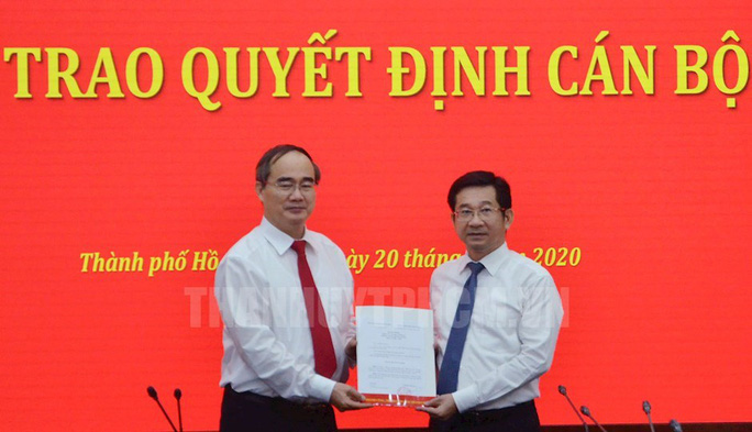 Ban Bí thư chuẩn y ông Dương Ngọc Hải làm Ủy viên Ban Thường vụ Thành ủy TP HCM - Ảnh 1.