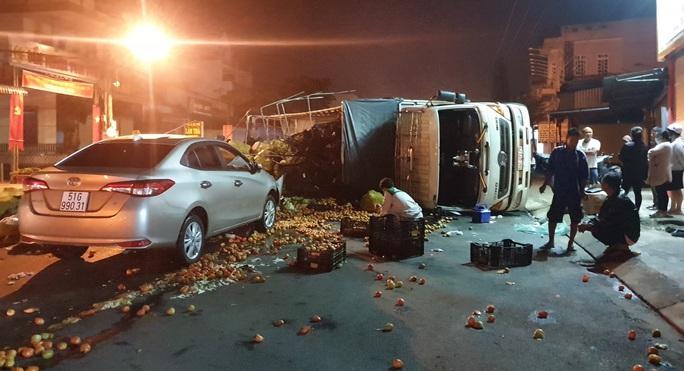 Tai nạn liên hoàn 4 xe trên Quốc lộ 20 - Ảnh 1.