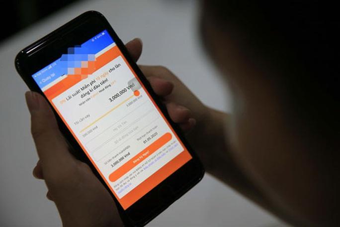 Vay 3,5 triệu đồng qua App, 6 tháng sau nợ trên 100 triệu đồng - Ảnh 1.