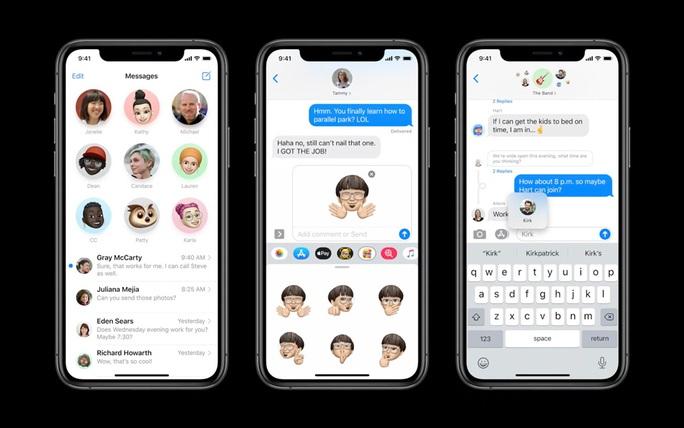 Apple ra mắt iOS 14: Giao diện tối ưu hơn, thêm tính năng cho Siri, iMessage, Maps - Ảnh 4.