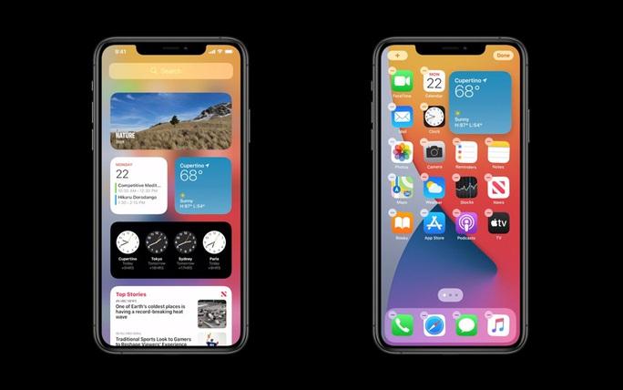 Apple ra mắt iOS 14: Giao diện tối ưu hơn, thêm tính năng cho Siri, iMessage, Maps - Ảnh 2.
