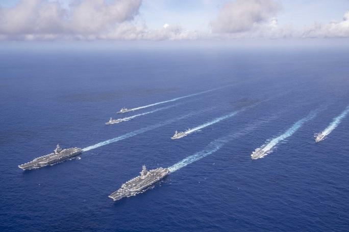 Tàu sân bay Mỹ không ngán tên lửa Trung Quốc - Ảnh 2.