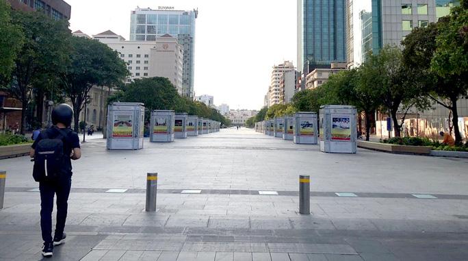TP HCM cấm xe nhiều tuyến đường khu trung tâm sáng 28-6 - Ảnh 1.