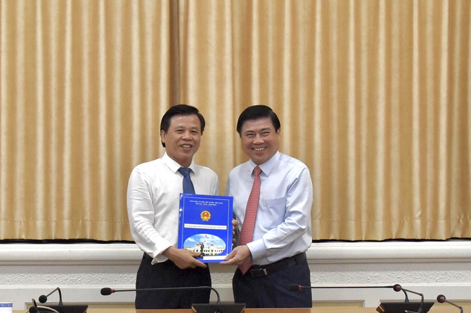 Phó Chánh Văn phòng UBND TP HCM được bổ nhiệm làm giám đốc một trung tâm - Ảnh 1.