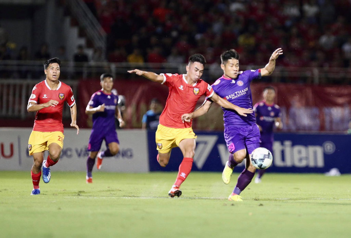 Sài Gòn FC chinh phục khán giả - Ảnh 1.
