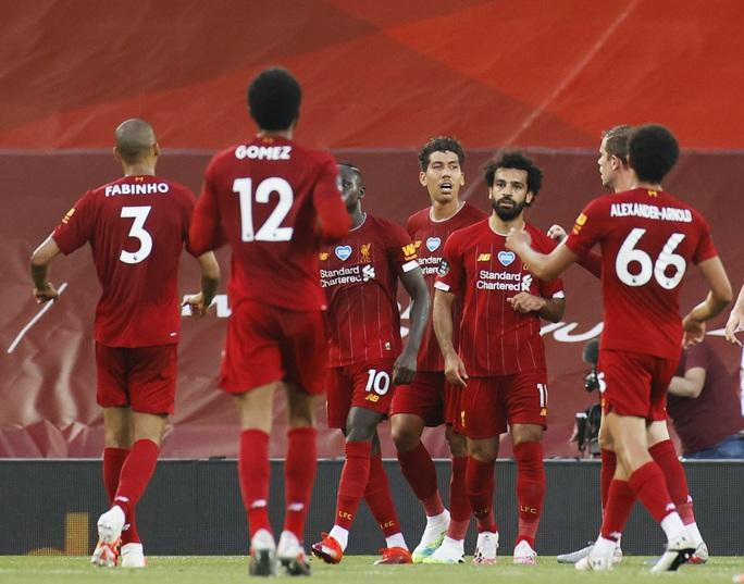Liverpool: Kỷ lục trên hành trình vô địch - Ảnh 1.