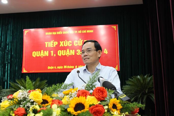 Ông Trần Lưu Quang nói về Khu Đô thị mới Thủ Thiêm - Ảnh 1.