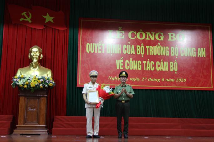 Thiếu tướng Nguyễn Hữu Cầu thôi làm Giám đốc Công an tỉnh Nghệ An - Ảnh 1.