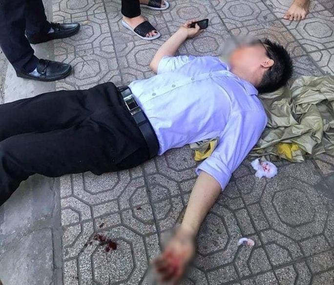 Vụ cán bộ tư pháp bị giang hồ hành hung ở Thái Bình: Vợ nguyên chủ tịch phường chủ mưu - Ảnh 1.