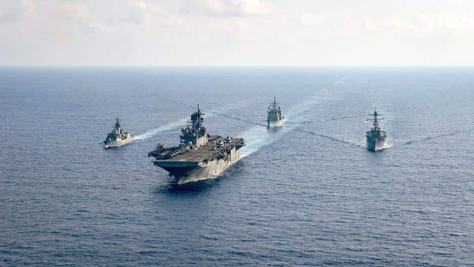 """Ngoại trưởng Mỹ: Biển Đông không phải """"đế chế hàng hải"""" của Trung Quốc - Ảnh 1."""