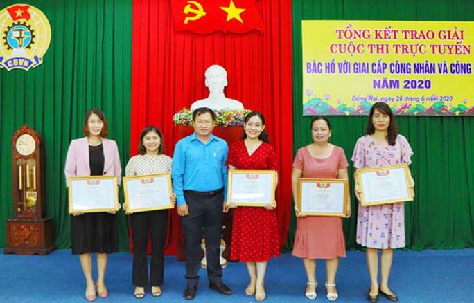 Đồng Nai: Phát giải cuộc thi Bác Hồ với công nhân và Công đoàn - Ảnh 1.