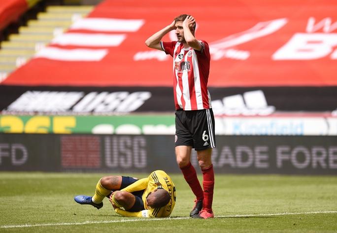 Arsenal hạ gục Sheffield, hẹn Man City ở bán kết FA Cup - Ảnh 2.