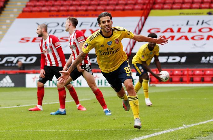Arsenal hạ gục Sheffield, hẹn Man City ở bán kết FA Cup - Ảnh 5.