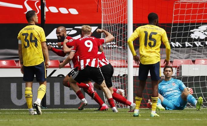 Arsenal hạ gục Sheffield, hẹn Man City ở bán kết FA Cup - Ảnh 4.