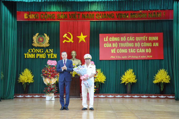 Phú Yên có giám đốc công an mới - Ảnh 2.