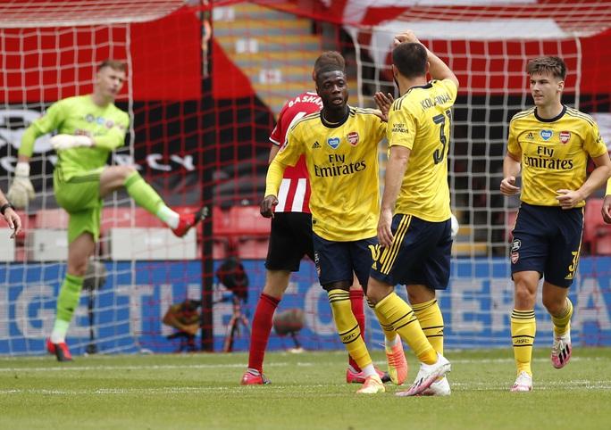 Arsenal hạ gục Sheffield, hẹn Man City ở bán kết FA Cup - Ảnh 3.