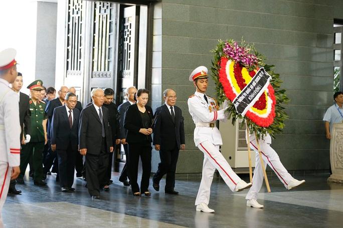 Chủ tịch Quốc hội, Thủ tướng Chính phủ viếng ông Vũ Mão - Ảnh 2.