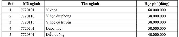 Công bố điều kiện xét tuyển vào Trường ĐH Y Dược TP HCM, Y khoa Phạm Ngọc Thạch - Ảnh 2.