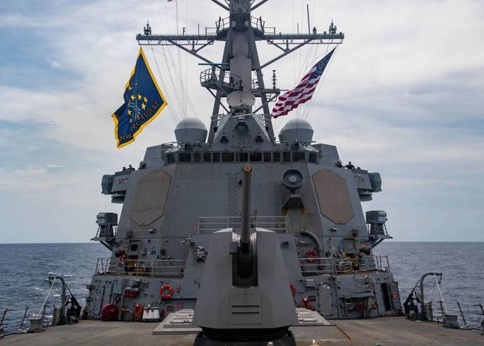 Mỹ gia tăng phản đối Trung Quốc về biển Đông - Ảnh 1.