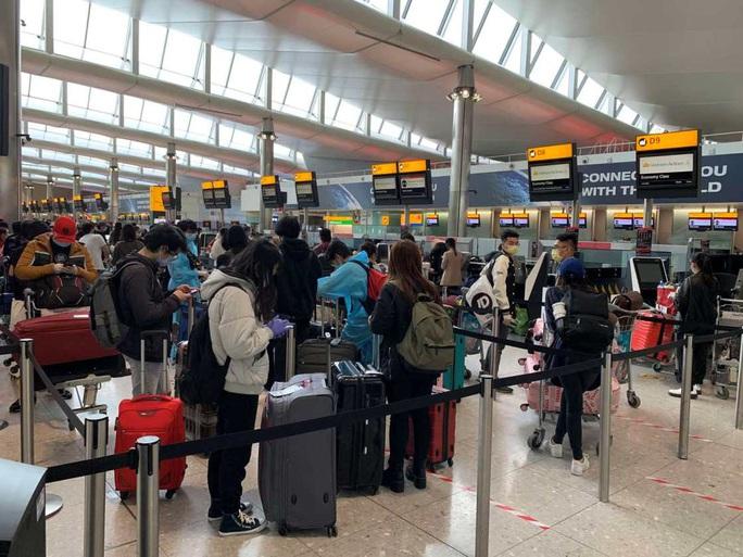 Gần 340 người Việt từ Anh về nước tại sân bay Tân Sơn Nhất - Ảnh 3.