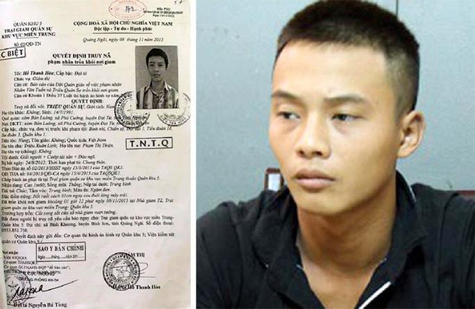 Đối tượng trốn trại giam ở Quảng Ngãi nghi cướp điện thoại, xe máy đang lẩn trốn ở Quảng Nam - Ảnh 1.