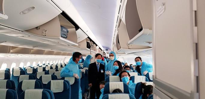 Sân bay Nội Bài đón 310 người Việt từ Thụy Điển và Phần Lan về nước - Ảnh 7.