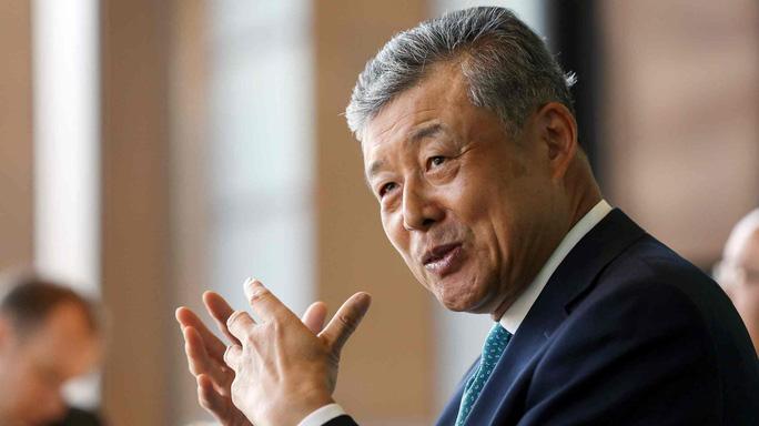 Đại sứ Trung Quốc tại Anh lỡ tiết lộ chuyện cơ mật? - Ảnh 1.