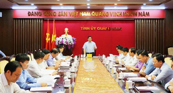 Đề nghị Bộ Chính trị cho phép Đại hội bầu trực tiếp Bí thư Tỉnh ủy - Ảnh 1.
