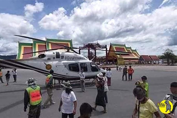 Đáp trực thăng xuống chỗ không nên đáp, tướng Thái Lan bị điều tra - Ảnh 1.