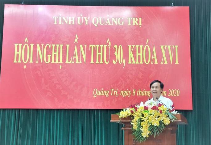 Bí thư Thành ủy Đông Hà được bầu làm Phó Bí thư Tỉnh ủy Quảng Trị - Ảnh 1.