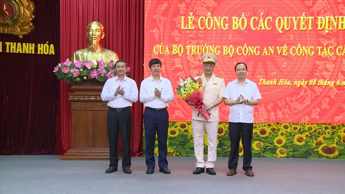 Phó Cục trưởng A05 là tân Giám đốc Công an tỉnh Thanh Hóa - Ảnh 2.