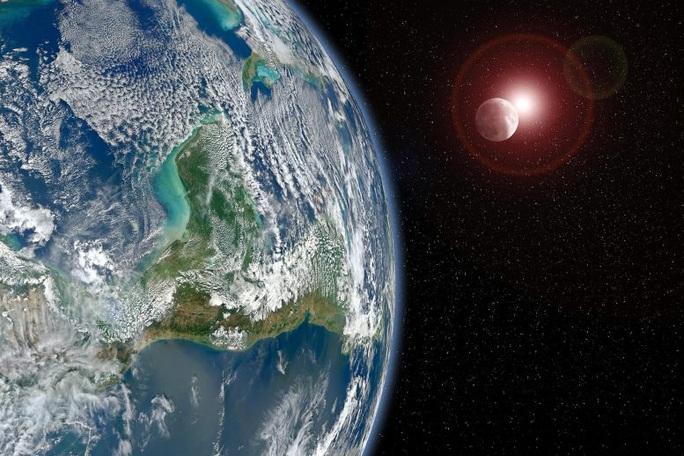 Choáng váng: một trái đất trong gương có thể sống được - Ảnh 1.