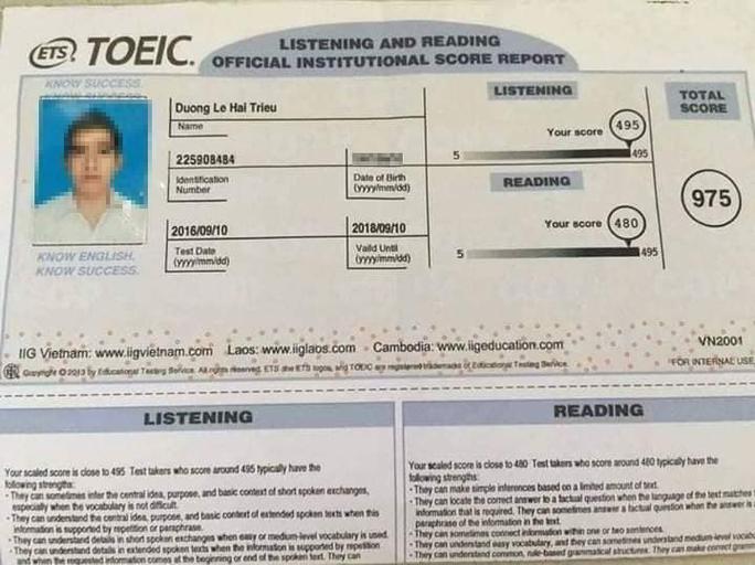 Lợi dụng sự nổi tiếng trên mạng để lừa học viên học TOEIC, IELTS - Ảnh 1.