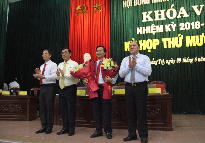 Ông Võ Văn Hưng được bầu giữ chức Chủ tịch UBND tỉnh Quảng Trị - Ảnh 2.