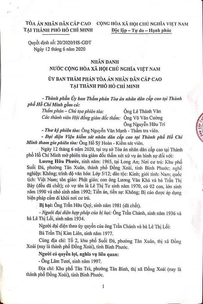Vụ bị cáo  nhảy lầu tự tử tại TAND tỉnh Bình Phước: Hủy án sơ thẩm, phúc thẩm để điều tra lại - Ảnh 1.