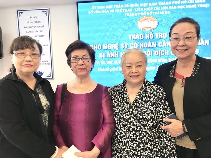 NSƯT Thanh Nguyệt xúc động nhận quà hỗ trợ dịch bệnh Covid-19 - Ảnh 7.