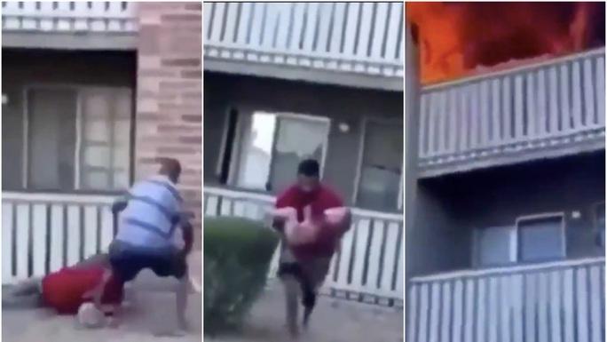 Mẹ ném con trai 3 tuổi xuống lầu, chết cháy khi cứu con gái 8 tuổi - Ảnh 2.