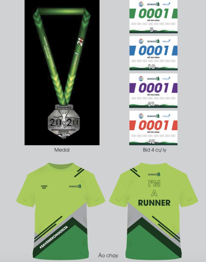Hấp dẫn, thú vị đường chạy Mekong Delta Marathon 2020 - Ảnh 7.