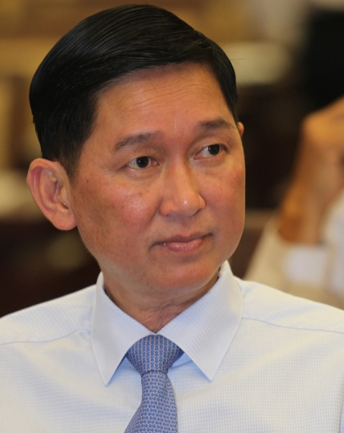 Tạm đình chỉ công tác Phó Chủ tịch UBND TP HCM Trần Vĩnh Tuyến - Ảnh 1.