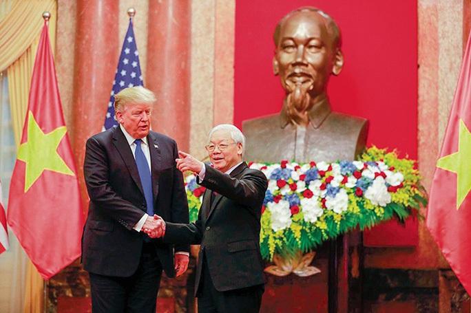 Tổng Bí thư, Chủ tịch nước và Tổng thống Donald Trump chúc mừng 25 năm quan hệ Việt - Mỹ - Ảnh 2.