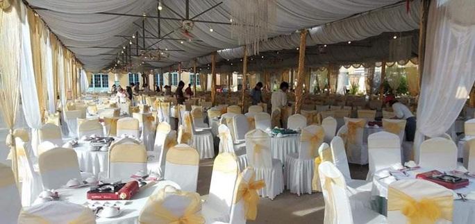 Chủ tịch UBND xã lên tiếng việc cho cán bộ mượn chỗ tổ chức đám cưới linh đình - Ảnh 2.
