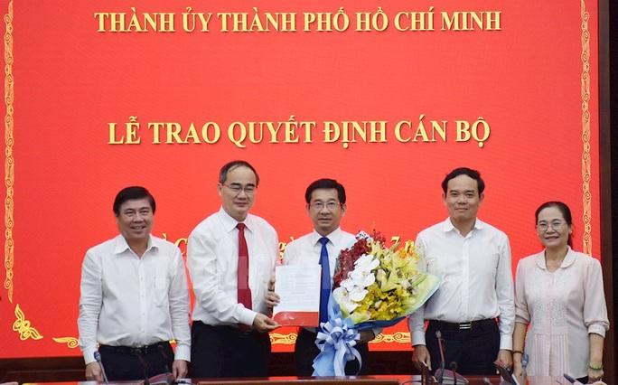 Ông Dương Ngọc Hải giữ chức Chủ nhiệm Ủy ban Kiểm tra Thành ủy TP HCM - Ảnh 1.