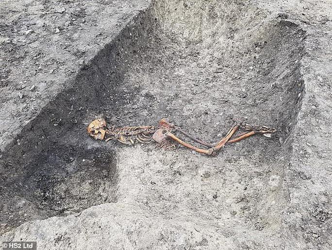Đường tàu cao tốc lao thẳng vào mộ cổ kinh hoàng 2.000 năm tuổi - Ảnh 1.