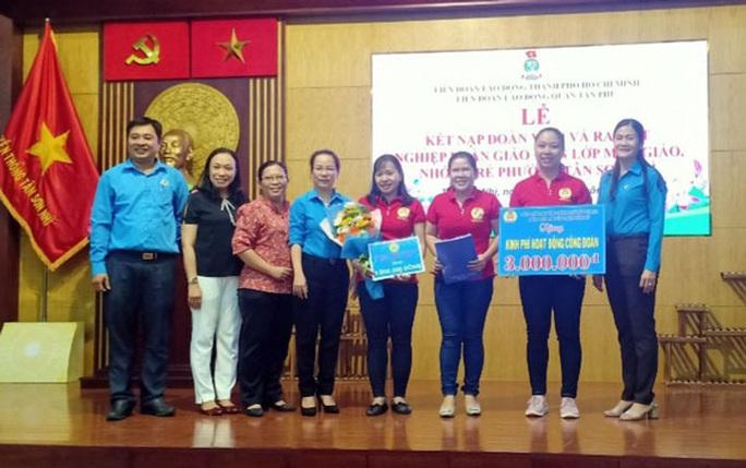 Quận Tân Phú, TP HCM ra mắt nghiệp đoàn thứ 6 - Ảnh 1.