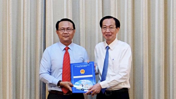 Nguyên lãnh đạo Tổng Công ty Nông nghiệp Sài Gòn nhận nhiệm vụ mới - Ảnh 1.