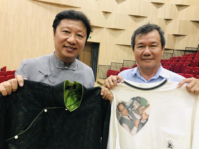 Nhà thiết kế Sĩ Hoàng, NSƯT Huỳnh Khải dốc sức cho kỷ niệm 99 năm ngày sinh cố GS-TS Trần Văn Khê - Ảnh 1.
