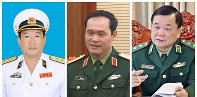 Tư lệnh Hải quân, Tư lệnh Bộ đội Biên phòng làm Thứ trưởng Bộ Quốc phòng - Ảnh 1.