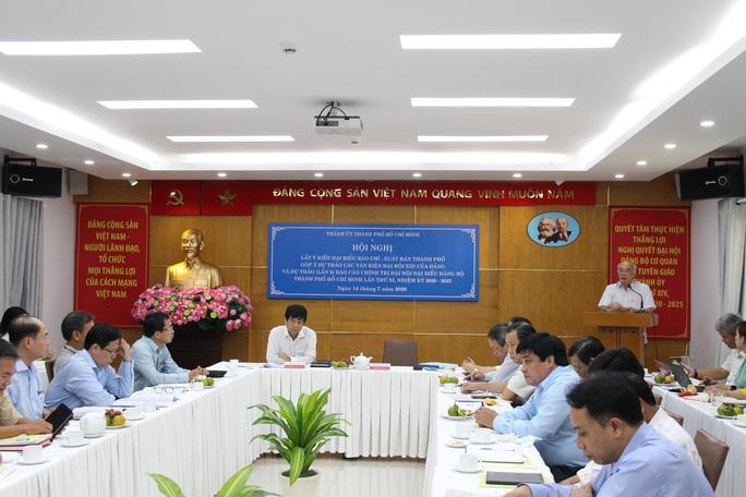 Xem xét chỉ tiêu tăng trưởng kinh tế TP HCM nhiệm kỳ tới - Ảnh 1.
